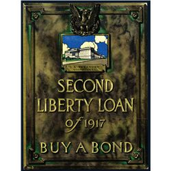 "Second Liberty Loan of 1917 ""Buy a Bond"" Advertisement."