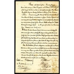 New York $1000 Bail Bond, 1799.