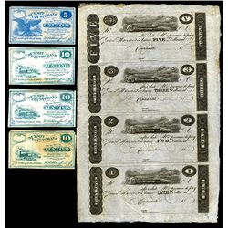 Ohio Obsolete Banknote and Scrip note Lot.