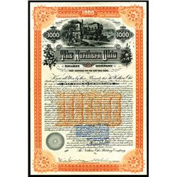 Northern Ohio Railway Co., 1895 Issued 5% Gold Bond.