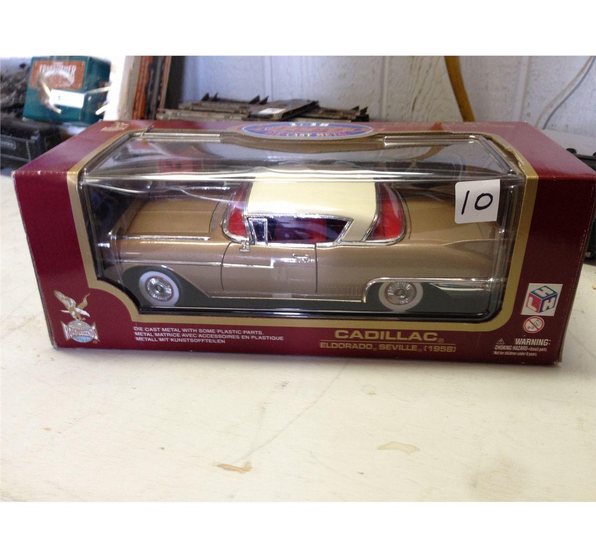 Die-Cast Medal 1:18 1958 Cadillac Eldorado Seville