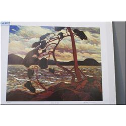 """Unframed limited edition Group of Seven print """"West Wind"""" by Tom Thomson 123/777"""