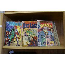 A large selection of vintage comic books including Marvel Comics What if...?!. Wolverine, Bat Lash V