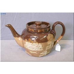 Antique Doulton Lambeth teapot