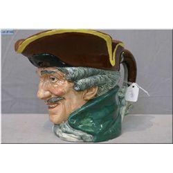 "Royal Doulton character jug ""Dick Turpin"""