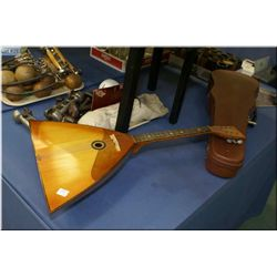 Wooden mandolin