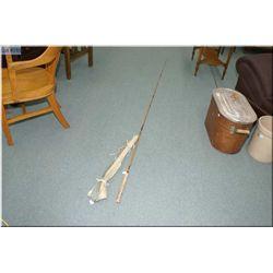 Traveller's Palakona split cane convertible fishing rod with Hardy case