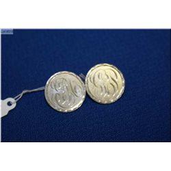 A Victorian coin silver Love Token brooch