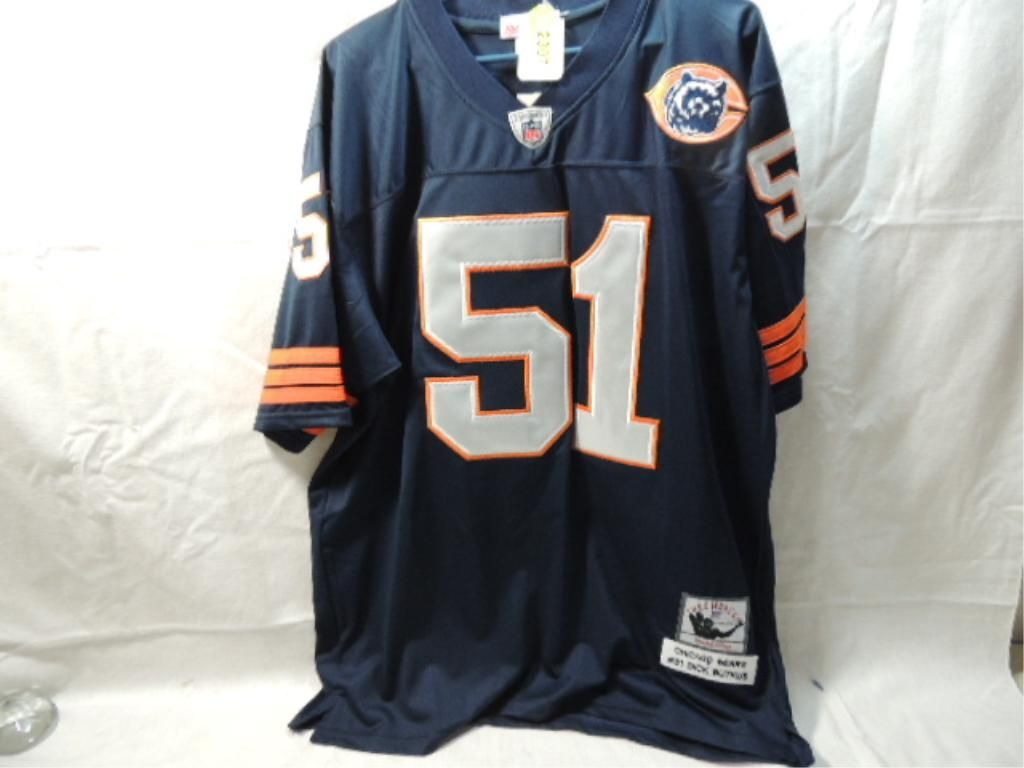 new arrival 85acb fc7ec MITCHELL NESS BEARS BUTKUS THROWBACK JERSEY NEW