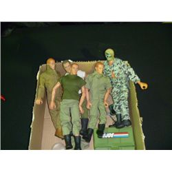 5 G.I. Joe's 12  Action Figures
