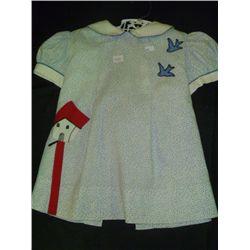 Vintage Blue Baby Dress