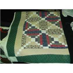 Patchwork Toddle Quilt