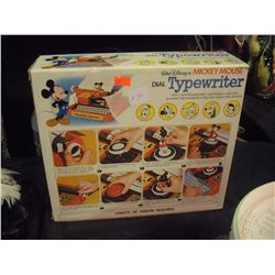 Mickey Mouse Typewriter