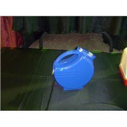 Blue Plastic Pitcher
