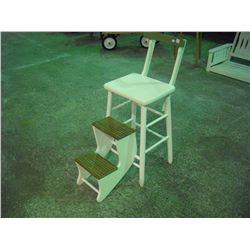 Step Stool High Chair