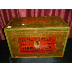 Brula Brand Japanese Tea Box