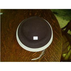 Brown & Tan Ebelynvaron Hat