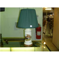 Fox Hunt Lamp