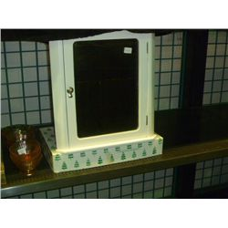 Corner Medicine Cabnet w/ Glass Shelf