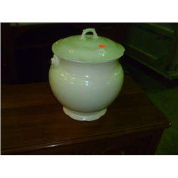Ironstone Chamber Pot w/ Lid
