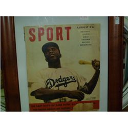 Jackie Robinson Magizine cover Picture