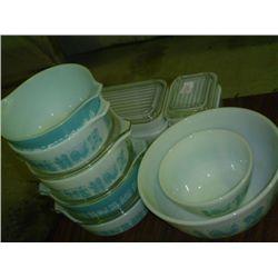 Pyrex Dish set 473 (16 piece)