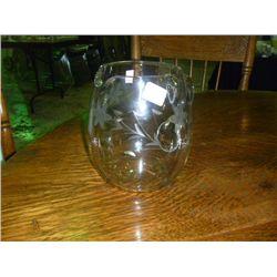 Cut Glass Round Pitcher