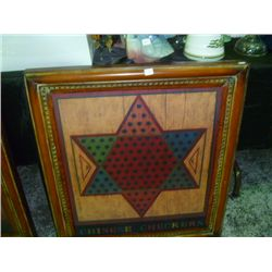 Metal Chinese Checkers Picture