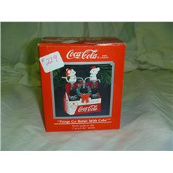 Things Go Better With Coke Christmas Ornament