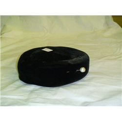 Union Made in USA Black Velour Hat