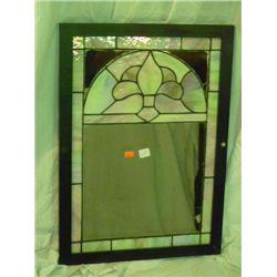 Leaded Glass Mirror