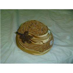 Gold Damozel  Hat
