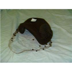 Brown Selkirk Wool Hat by Henry Pollock Inc.