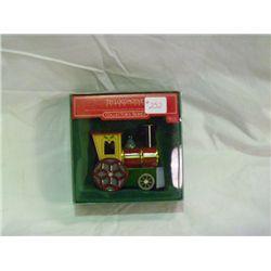 1986 Tin Locomotive Christmas Ornament Hallmark Collection Series