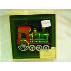 1983 Tin Locomotive Christmas Ornament Hallmark Collection Series