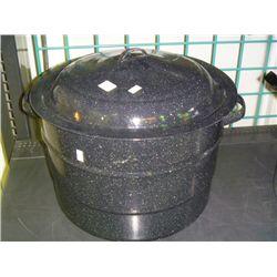 Black Enamel Hot Water Bath Canner