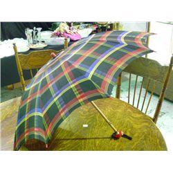 Vintage Umbrella Plaid