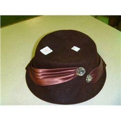 Brown Hat No Markings