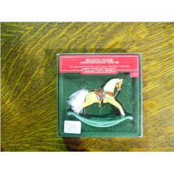 1986 Rocking Horse Christmas Ornament Hallmark Collection Series