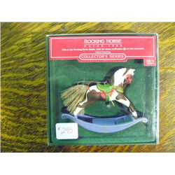1985 Rocking Horse Christman Ornament Hallmark Collectible Series