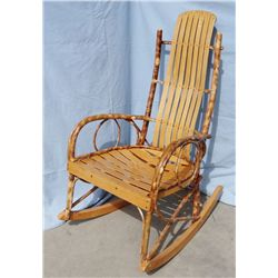 Willow rocking chair, Amish made