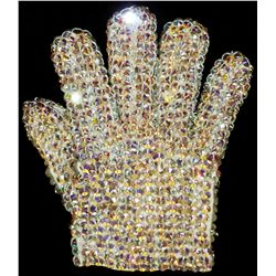 MICHAEL JACKSON HISTORY TOUR ERA CRYSTAL GLOVE