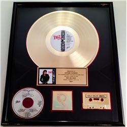 "MICHAEL JACKSON RIAA GOLD RECORD AWARD FOR ""BAD"""
