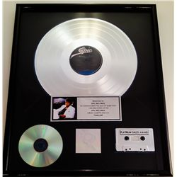 "MICHAEL JACKSON RIAA PLATINUM RECORD AWARD FOR ""THRILLER"" PRESENTED TO EPIC RECORDS"