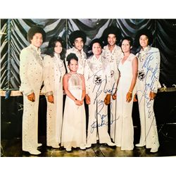 JACKSONS SIGNED PHOTO