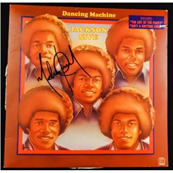 "MICHAEL JACKSON SIGNED ""DANCING MACHINE"" ALBUM"