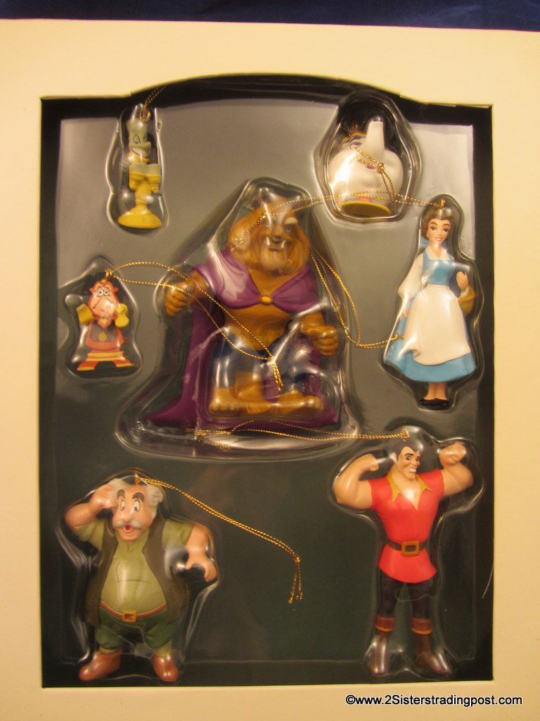 Disney Storybook Christmas Ornaments Beauty The Beast