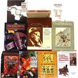 Collection of 10 reference books includes