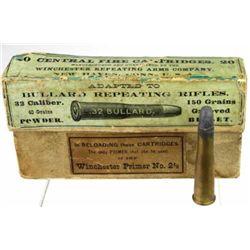 Full correct Winchester 32 Bullard ammo