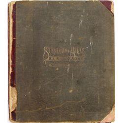 1911 standard Atlas of Brule County South Dakota